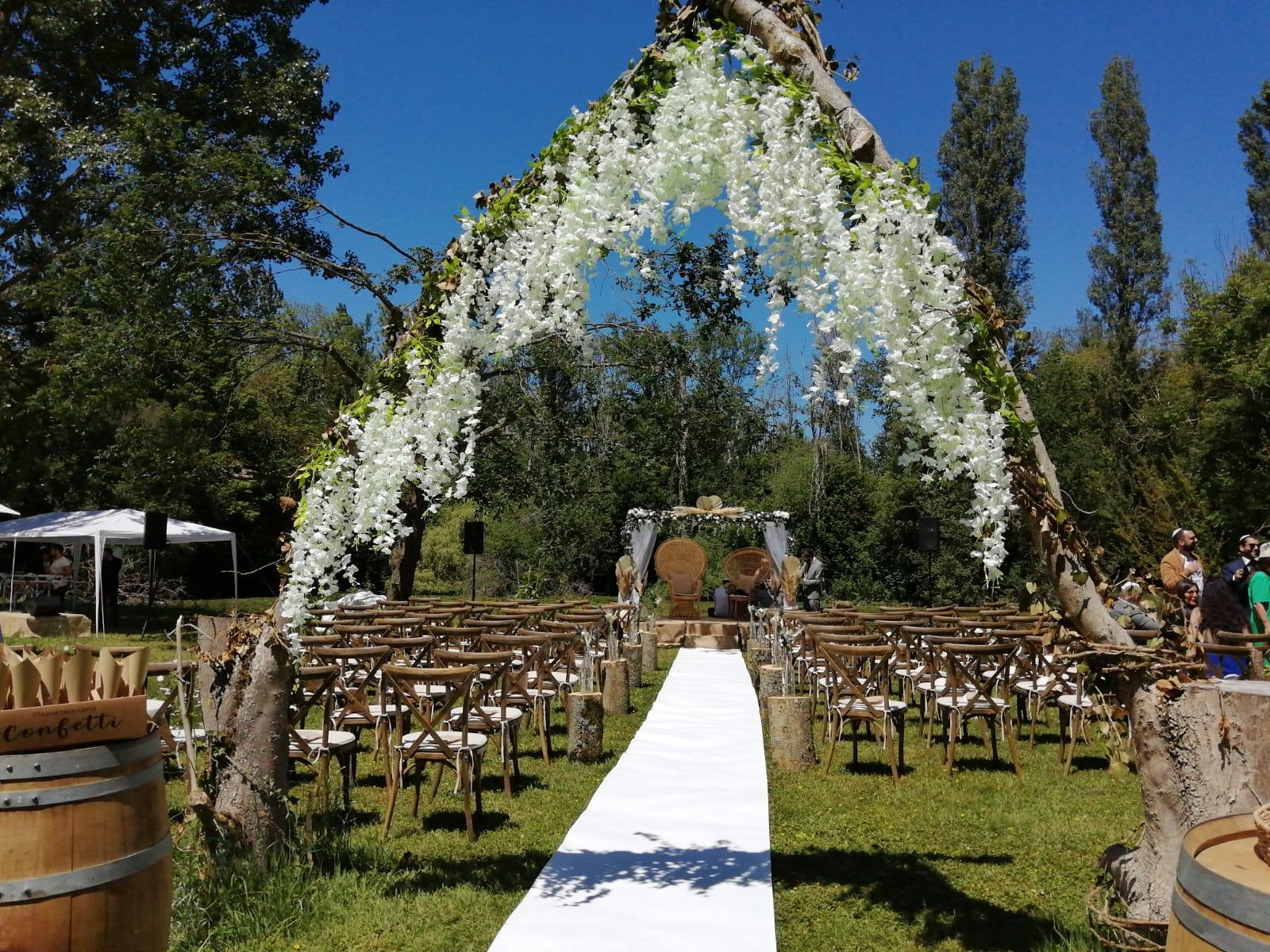 Entrée de cérémonie juif - Mariage - C&D Events - Wedding planner / organisatrice de mariage dans l'Oise